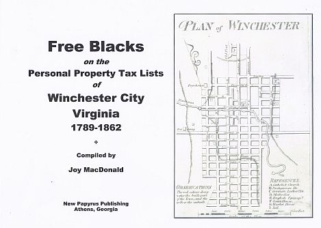 Genealogy researching in Winchester City Virginia